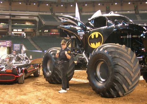 monster jam batman monster jam star car central famous movie tv car news