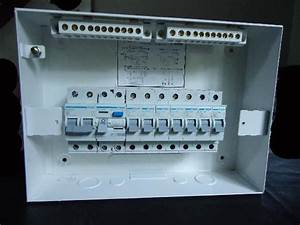 Mcbs And The Rcd Fixed On To The Din Rail  This Is Easily