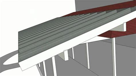 porch roof addition 1213c sketchup animation youtube