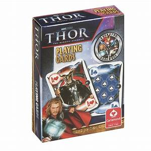NEW THOR PACK OF PLAYING CARDS RETRO DECK GAMES POKER FILM ...