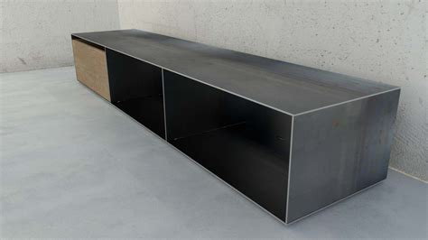 Einfamilienhaus Sideboard Fuer Kaminholz by Designmetallmoebel Brennholz Sideboard Kaminholz