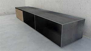 Brennholz Aufbewahrung Aussen : designmetallmoebel brennholz sideboard kaminholz ~ Michelbontemps.com Haus und Dekorationen