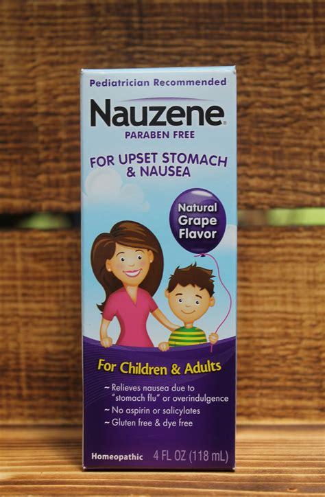 Fast Homeopathic Upset Tummy Relief With Nauzene Kids