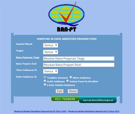 ban pt melihat akreditasi perguruan tinggi graphic