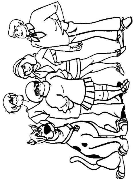 scooby doo coloring page page printable scooby doo coloring pages