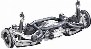 Audi Q7 Rear Suspension With Steering System