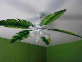 palm leaf ceiling fan replacement blade fit on by
