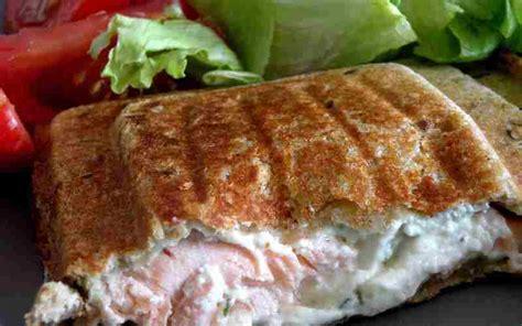 saumon boursin cuisine recette croque monsieur au saumon et boursin économique et