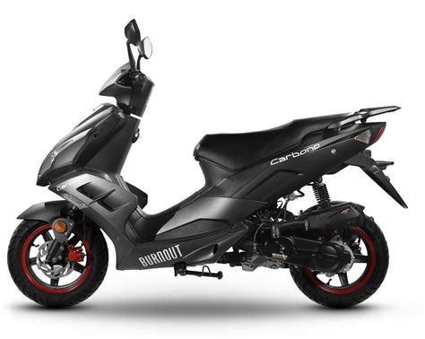 motorroller 50 ccm motorroller sport roller moped scooter mofa 50 ccm 45 kmh carbono schwarz matt ebay
