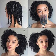 style hair with coconut easy chunky flat twist out tutorial for hair 2319