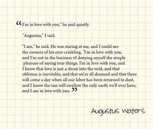 Augustus Waters Quotes. QuotesGram