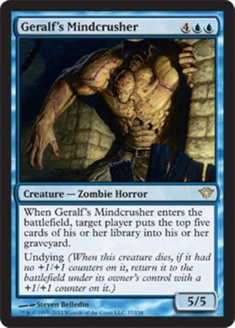 mtg mill deck list 1049 best images about magic the gathering decks on