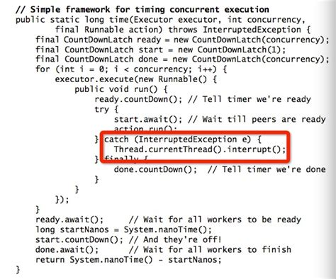 Java Resume Thread After Interrupt by Java Why Thread Currentthread Interrupt Be Called Stack Overflow