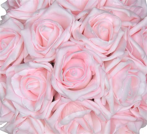 light pink roses bridesmaids light pink wedding posy bouquet s