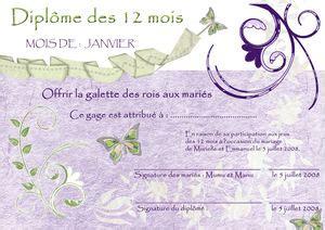 jeu des chaises musicales mariage diplôme du jeu des 12 mois vert et mauve l 39 atelier