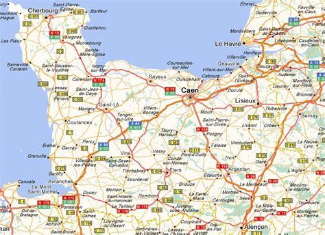 Carte Region Normandie by Carte R 233 Gion Basse Normandie La Normandie Info