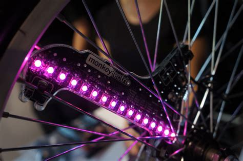 Monkeylectric Rolls Out Programmable, Animated Bicycle