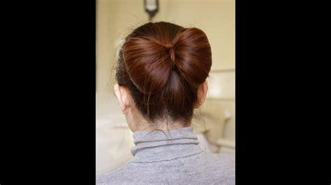 hair bow tutorial  long hair youtube