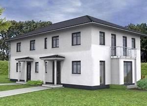 Fertighaus 2 Familien : doppelhaus bauen 95 doppelh user mit grundrissen und ~ Michelbontemps.com Haus und Dekorationen