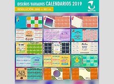 PLANTILLAS CALENDARIO 2019 PARA SUBLIMAR MUGS TAZONES