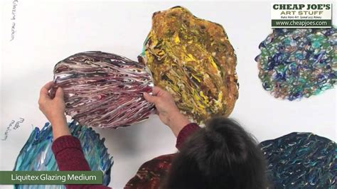 Debbie Arnold Revealing Acrylic Poured Skins Youtube