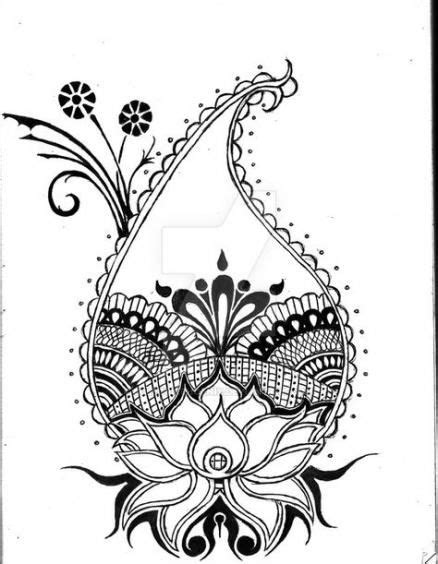 Flowers Tattoo Desing Large 41 Ideas For 2019 #tattoo #flowers | Lotus drawing, Flower tattoos