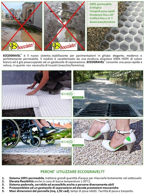 Ghiaia Drenante by Eccogravel Pavimentazione Stabilizzante E Drenante Per