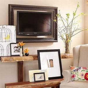 Tv frame ideas your and blend it in the home