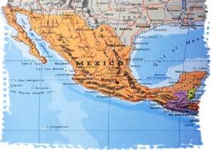 Arizona Mexico Border Map