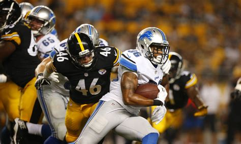 detroit lions  pittsburgh steelers