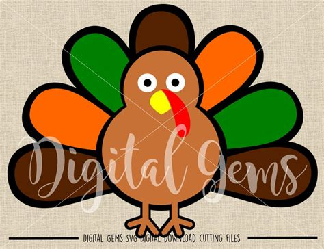 After your purchase, you can immediately download a zip file containing the following files Turkey, Thanksgiving svg / dxf / eps / png files. Digital ...