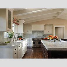 Vaulted Ceiling In Kitchen  Transitional  Kitchen