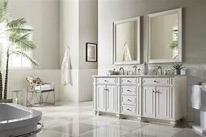72, U0026quot, Bristol, Cottage, White, Double, Bathroom, Vanity