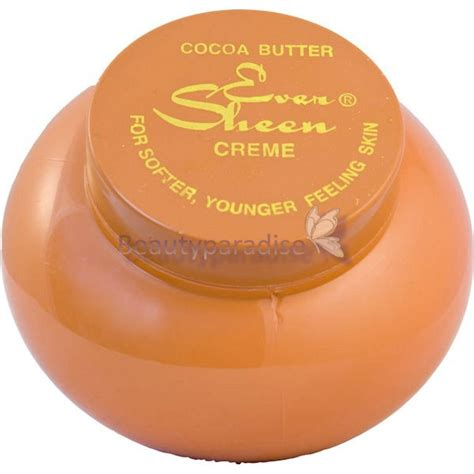 creme cocoa butter sheen cocoa butter creme beautyparadise se