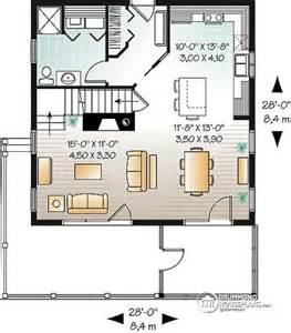 1 bedroom garage apartment floor plans house plan w3929 v1 detail from drummondhouseplans