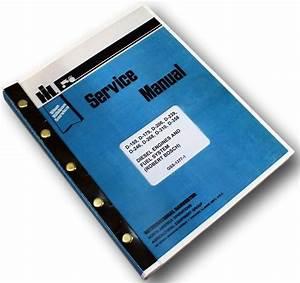 International Diesel Engines D155 D179 D206 Service Repair