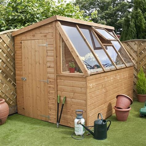 waltons tongue  groove potting shed wooden
