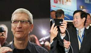apple and samsung again discussing patent dispute settlement With tim cook and larry page talking patent issues