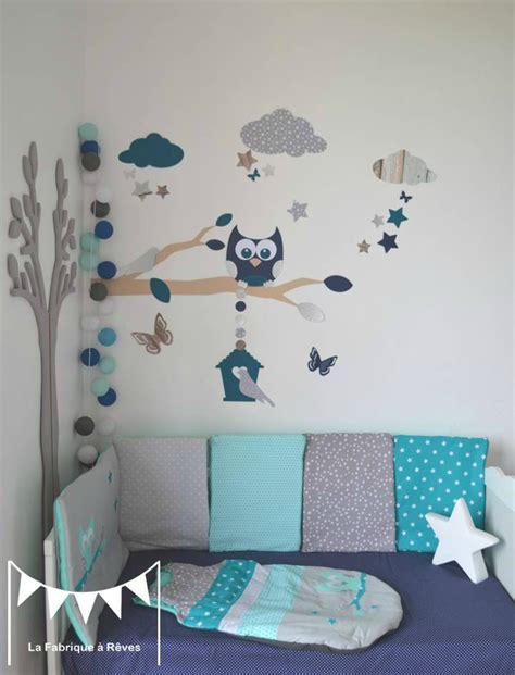 decoration murale chambre bebe decoration murale chambre enfant chambre bebe bleue et