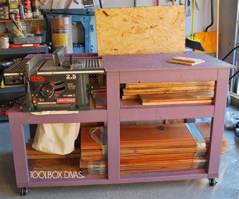 table  workbench  wood storage