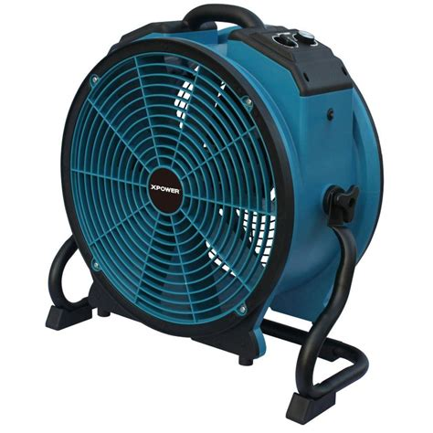 variable speed exhaust fan xpower turbopro 16 in variable speed axial fan with daisy