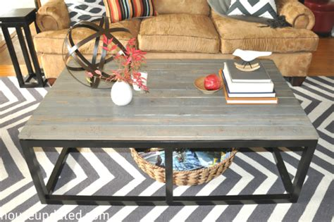 How To Build A Diy Industrial Coffee Table For Only $.
