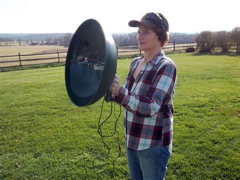 squirrel baffle spy parabolic microphone