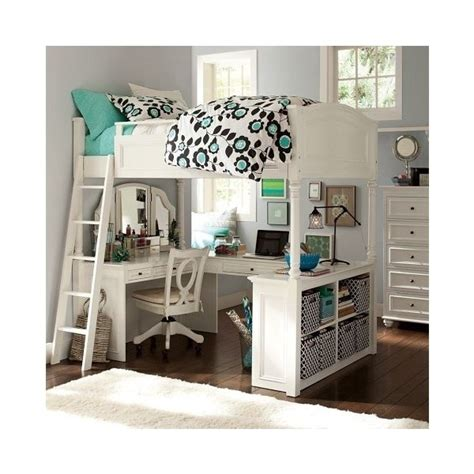 chelsea vanity loft bed pin by on polyvore