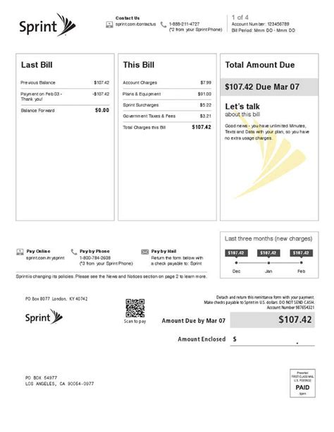 surcharge phone number current customers learn about your monthly bill sprint
