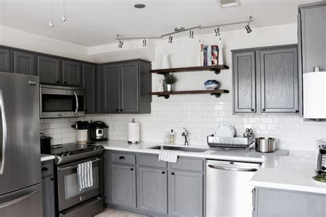 grouting kitchen backsplash modern farmhouse kitchen makeover 1516