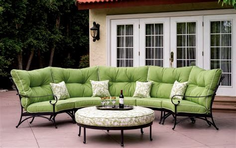 outdoor seating sectional sofa patio furniture seating sectional cast aluminum set