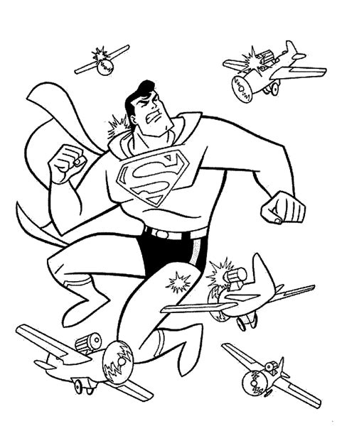 superman coloring pages  printable coloring pages