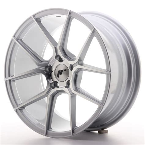 japan racing jr30 japan racing wheels jr 30 silver machined 18x8 japan racing deutschland