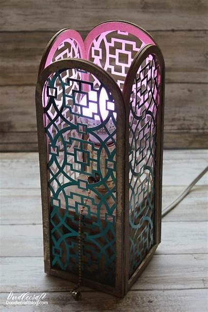 Cricut Maker Lantern Projects Luminaries Lampshade Blade